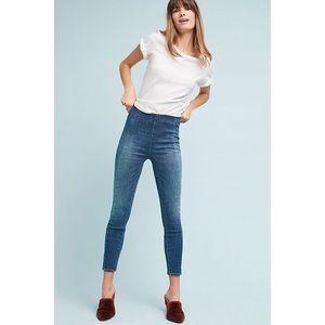 Pilcro High Rise Legging Jeans 30